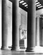American History Photos - The Lincoln Memorial by War Is Hell Store