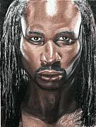 Heavyweight Paintings - The Lion - Lennox Lewis by Kenneth Kelsoe