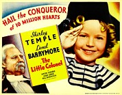 Child Star Posters - The Little Colonel, Shirley Temple Poster by Everett