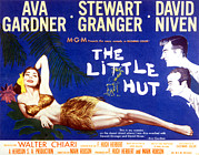 Ava Framed Prints - The Little Hut, Ava Gardner, Stewart Framed Print by Everett