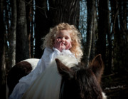 Storybook Prints - The Little Princess Print by Terry Kirkland Cook