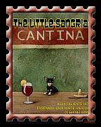 Humorous Prints - The Little Sangria Cantina... Print by Will Bullas