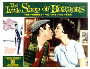 Lobbycard Framed Prints - The Little Shop Of Horrors, 1960 Framed Print by Everett