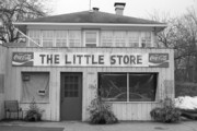 Grocery Store Photo Prints - The Little Store Print by Lauri Novak