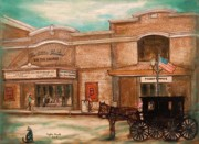 Regina Brandt Metal Prints - The Little Theatre Metal Print by Regina Brandt