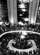 Lincoln Center Prints - The Lobby Of The Metropolitan Opera Print by Everett