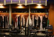 Jeter Photos - The Locker Room at Yankee Stadium by Michael  Albright