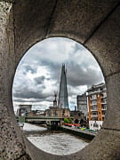 Shard Framed Prints - The London Shard Framed Print by Dawn OConnor