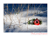 Christmas Cards Art - The Lone Ornament - 1st Edition by Peter Tellone