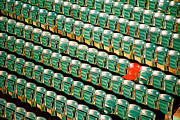 Ted Williams Photo Prints - The Lone Red Seat Print by Claude Taylor
