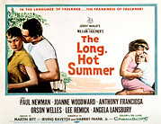 1950s Movies Photo Framed Prints - The Long, Hot Summer, Joanne Woodward Framed Print by Everett