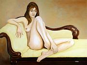 The Long Pose Print by Tom Morgan