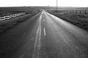 Old Country Roads Photos - The Long Road Home . 7D9903 . Black and White by Wingsdomain Art and Photography