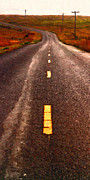 Bay Area Digital Art - The Long Road Home . Painterly Style . Long Size by Wingsdomain Art and Photography
