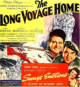 1940 Movies Photos - The Long Voyage Home, John Wayne by Everett