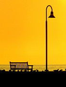 Lamp Posts Prints - The Long Wait Print by Karen Wiles