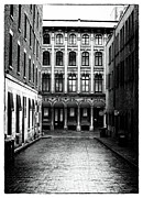 Long Street Framed Prints - The Long Walk to the End Framed Print by John Rizzuto