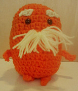 Stuffed Animal Toys Tapestries - Textiles - The Lorax by Sarah Biondo