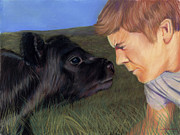 Calf Pastels - The Lost by Christian Vandehaar