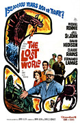 1960s Poster Art Posters - The Lost World, Jill St. John, David Poster by Everett