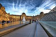 The Louvre Paris Print by Charuhas Images