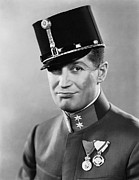Chevalier Metal Prints - The Love Parade, Maurice Chevalier, 1929 Metal Print by Everett