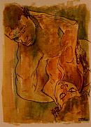 Couple Mixed Media - The Lovers by Dan Earle