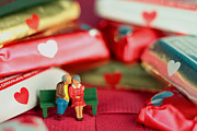 Child Toy Originals - The Lovers in Valentines Day by Paul Ge