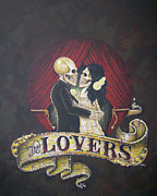 Clandestine Framed Prints - The Lovers Framed Print by Matthew Powell