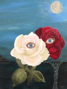 All - The Lovers  roses by night by Eric Kempson