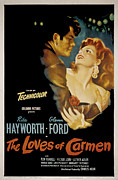 Postv Photos - The Loves Of Carmen, Glenn Ford, Rita by Everett