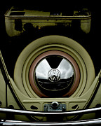 Volkswagen Beetle Framed Prints - The Luggage Compartment   Framed Print by Steven  Digman