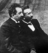 Lumiere Photos - The Lumiere Brothers, Louis Jean by Everett