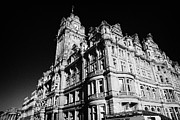 Princes Framed Prints - The Luxury Balmoral Hotel Edinburgh Scotland Uk United Kingdom Framed Print by Joe Fox