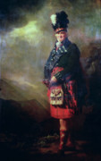 Scotland Paintings - The MacNab by Sir Henry Raeburn