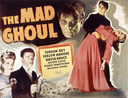 Ghoul Framed Prints - The Mad Ghoul, Evelyn Ankers, Turhan Framed Print by Everett