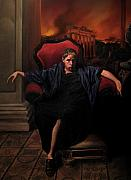 Realism Art Work Originals - The Madness of Nero by Eric  Armusik