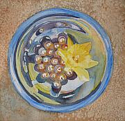 Daffodil Painting Framed Prints - The Magic Bowl II Framed Print by Jenny Armitage
