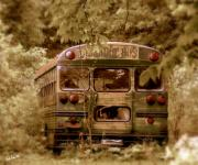 Weed Digital Art - The Magic Bus by Ed Smith