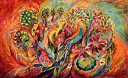 The Magic Garden Print by Elena Kotliarker