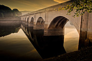 Birchinlee Prints - The Magic Hour at Ladybower Print by Martin Jones