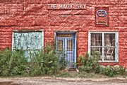 Matt Suess Prints - The magic sky Taos Print by Matt Suess