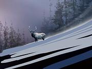 The Magnificent Elk Print by Paul Sachtleben