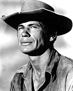 Cowboy Hat Photos - The Magnificent Seven, Charles Bronson by Everett