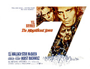 Posth Posters - The Magnificent Seven, Steve Mcqueen Poster by Everett