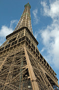 Grillwork Prints - The Majestic Eiffel Print by Kent Sorensen