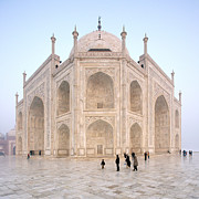 Charismatic Framed Prints - The Majestic Taj Mahal India Framed Print by Karel Noppe