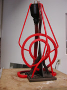 Featured Sculptures - The making of Radiating Ethics by John Gibbs