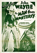 Postv Photos - The Man From Monterey, John Wayne, 1933 by Everett