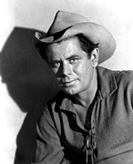 Western Shirt Framed Prints - The Man From The Alamo, Glenn Ford, 1953 Framed Print by Everett